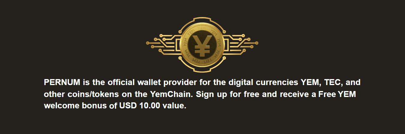 PerNum Wallet Digital Currencies