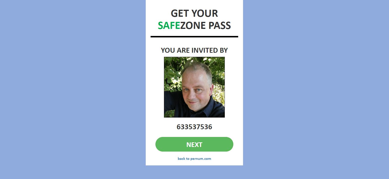 SafeZone Pass