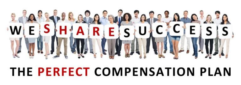 Compensation Plan We Share Success